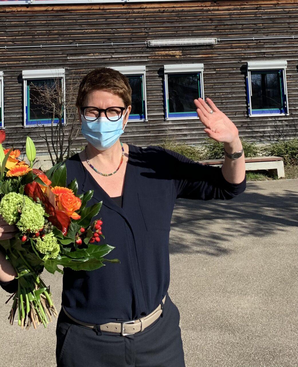 Verabschiedung von unserer Rektorin, Frau Dr. Eva Lang