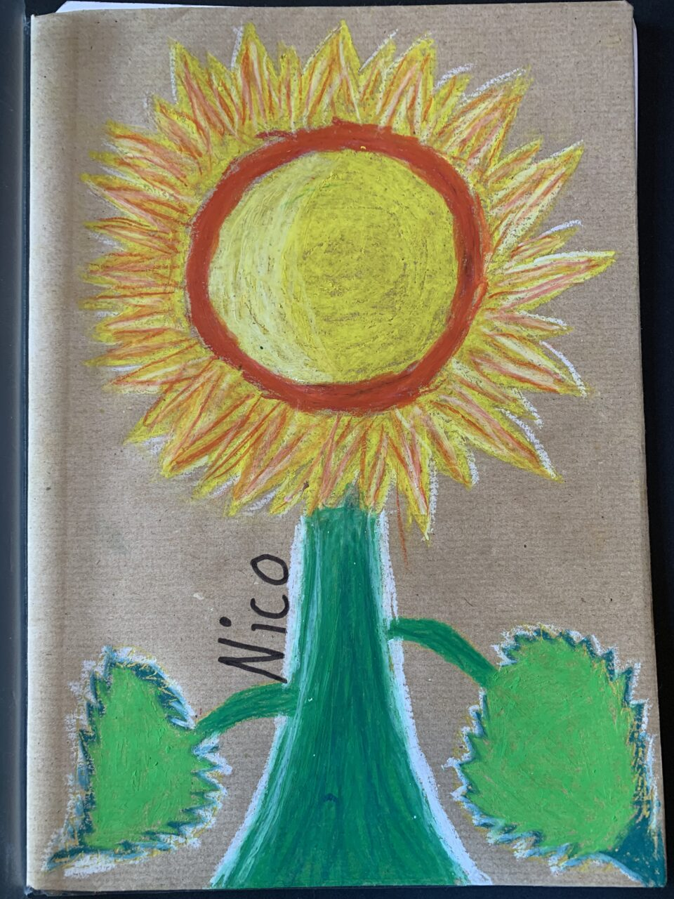 Kunst 9: Sonnenblumen
